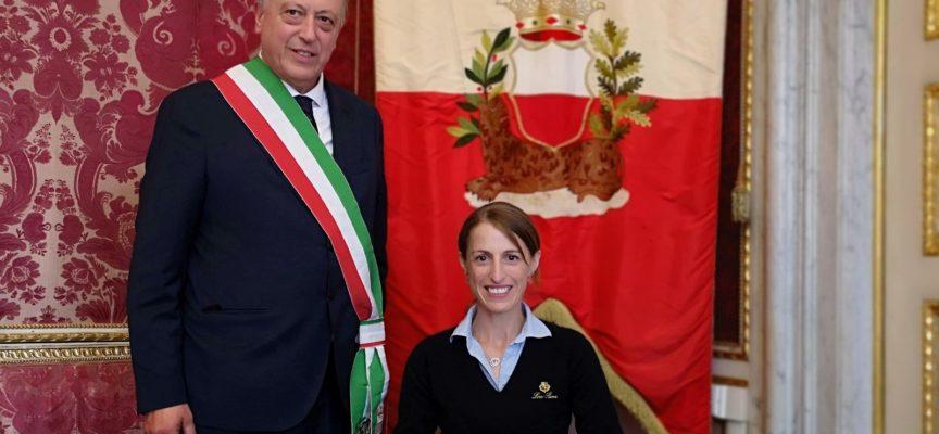 Il sindaco Tambellini ha ricevuto Sara Morganti