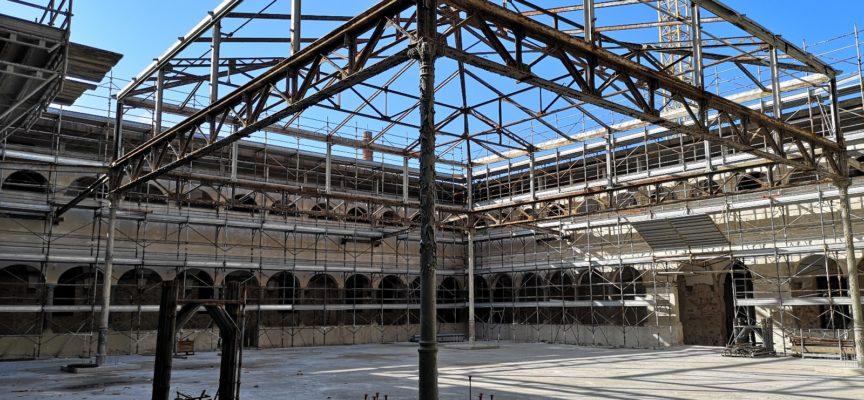 Restauro della Manifattura: prorogato il termine dei lavori al 25 febbraio 2019