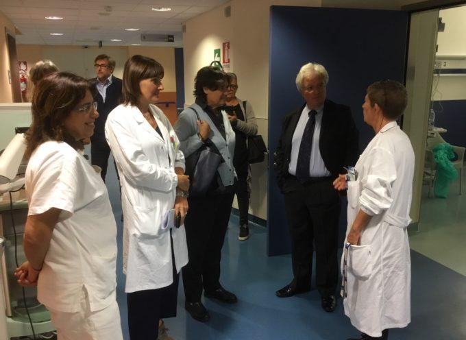 L'assessore Saccardi ha visitato oggi (2 ottobre) il San Luca,