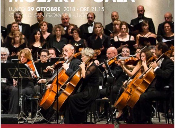 Grande chiusura per la stagione 2018 dell'Orchestra Filarmonica di Lucca: il 29 ottobre torna il Mozart Gala alla chiesa di San Giovanni