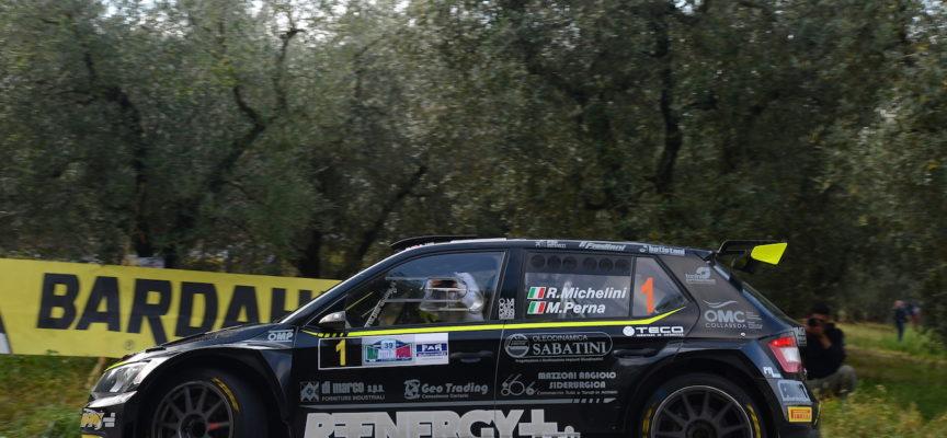 39° Rally Citta' di Pistoia: è Michelini-tris