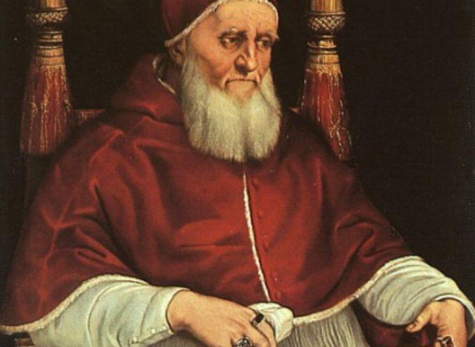 Accadde Oggi, 7 ottobre: 1506, Il Papa Giulio II strappa (e non ecumenicamente!) Bologna ai Bentivoglio