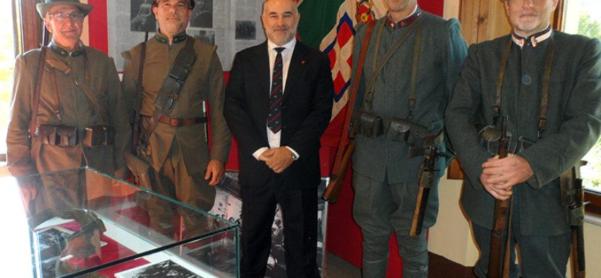Mostra della fondazione Ricci sul materiale militare della prima guerra mondiale