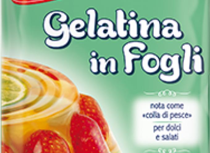 Richiamo gelatina in fogli Paneangeli della Cameo. Possibile presenza di Salmonella.