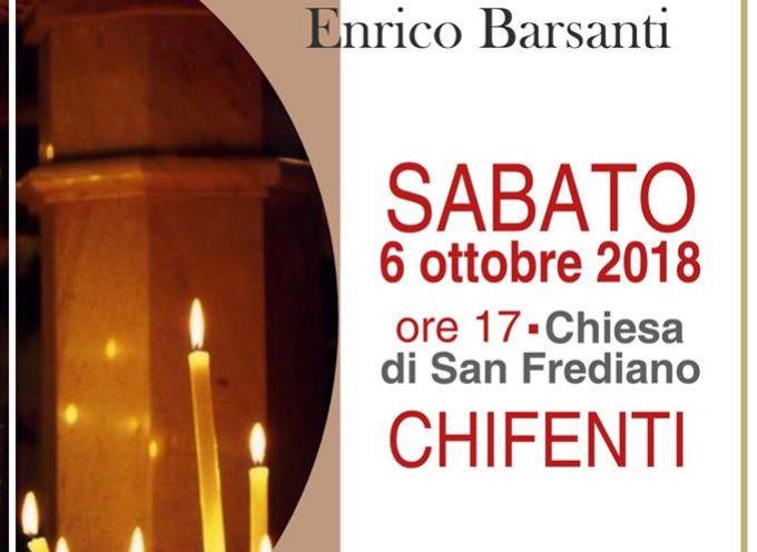Concerto d'organo, a Chifenti,