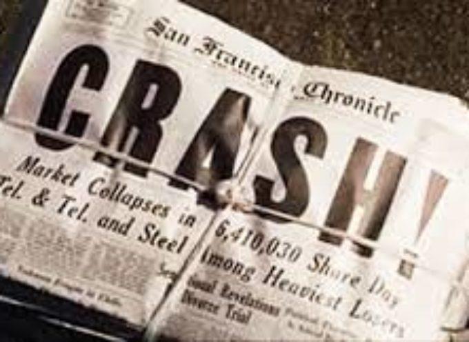 Accadde Oggi, 29 Ottobre: 1929, il Martedì Nero di Wall Street