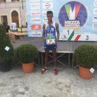 Straordinario Girma Castelli – GS Orecchiella Garfagnana – 4° ai Campionati Italiani di Mezza Maratona Juniores