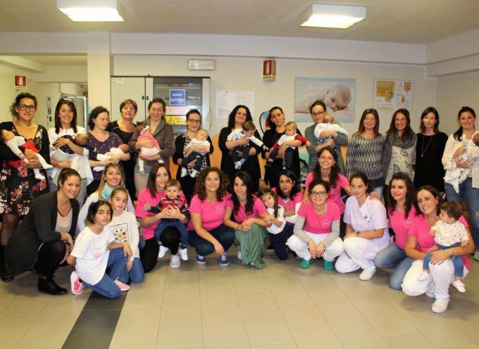 Barga si festeggia la Settimana mondiale dell'allattamento