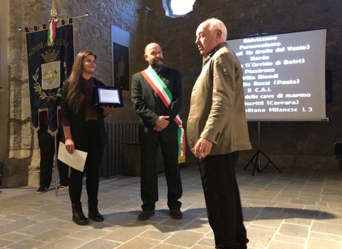 Marco Poma ha ricevuto la cittadinanza onoraria del comune di Fabbriche di Vergemoli grazie al film Mefisto Funk,