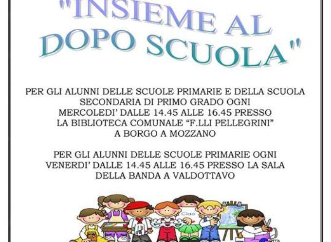Inizia il dopo scuola a Borgo a Mozzano