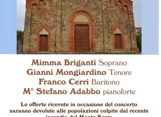 Concerto Lirico a favore delle popolazioni colpite dall´incendio del Monte Serra
