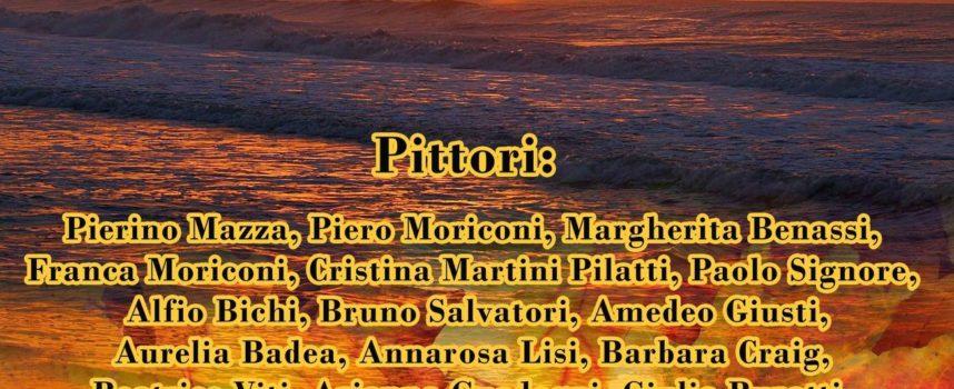 PRO LOCO: PITTORI ITINERANTI, INAUGURAZIONE DELLA COLLETTIVA AUTUNNALE, OGGI POMERIGGIO, ALLE ORE 17.00 – SALA ROMEO SALVATORI, VIA CORRADO DEL GRECO 11, SERAVEZZA