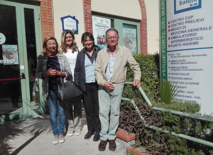 Visita ufficiale questa mattina alla Croce Verde di Forte dei Marmi di Stefania Saccardi