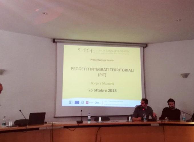 Presentazione del bando PIT da parte del GAL MontagnAppennino..