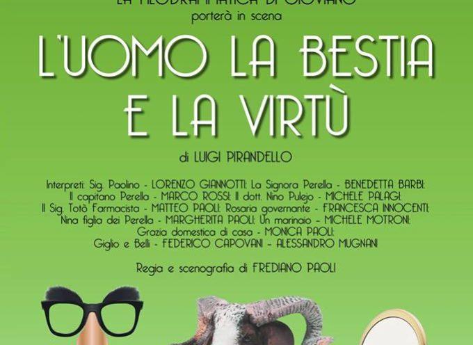 L'Uomo la bestia e la virtù di Pirandello a Borgo a Mozzano