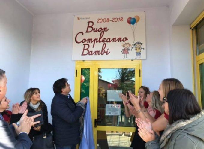 dieci anni fa inaugurava l'asilo Bambi a Fiumetto
