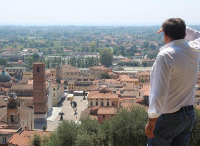 PIETRASANTA – completata messa in sicurezza cinta muraria, terrazzo panoramico per consegnare Rocca alla comunità
