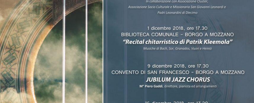 """Nona edizione degli """"Incontri musicali"""" nel comune di Borgo a Mozzano"""