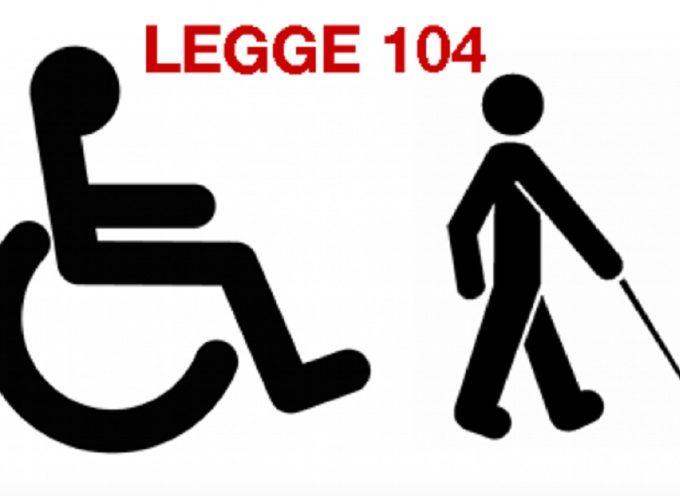 Legge 104: ecco per quali tipo di INVALIDITA' e' riconosciuta