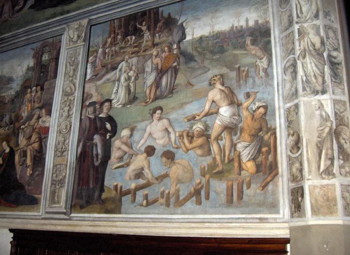 """Il Santo del giorno, 18 Novembre: S. Frediano, che con un """"rastrello"""" deviò il corso del fiume Serchio"""