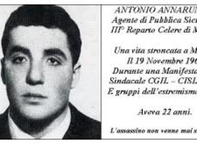 Accadde oggi, 19 Novembre 1969: il primo omicidio del movimento del '68, l'agente Antonio Annarumma