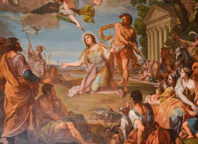 Il Santo del giorno, 19 Novembre: S. Torpé, decapitato a Pisa, e con il corpo abbandonato, assieme ad un gallo ed una mano,