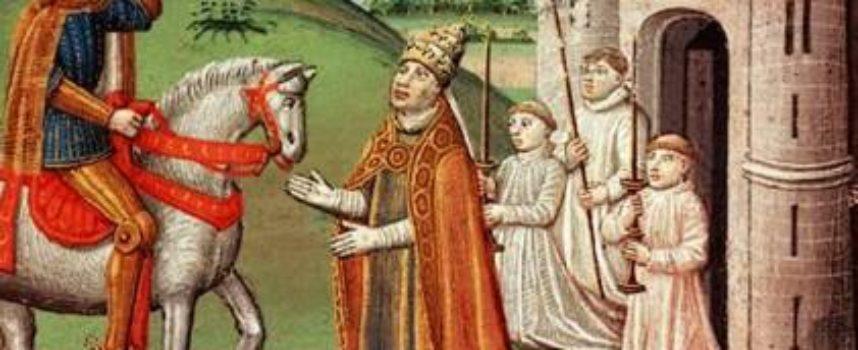 Accadde Oggi, 29 Novembre: 800, Carlo Magno arriva a Roma per mettere ordini negli intrighi di Papa Leone III e della Curia romana