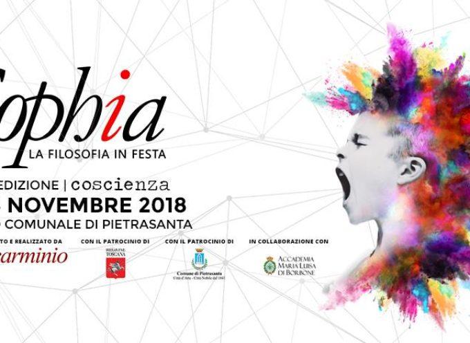 PIETRASANTA – SOPHIA – LA FILOSOFIA IN FESTA | EDIZIONE 2018