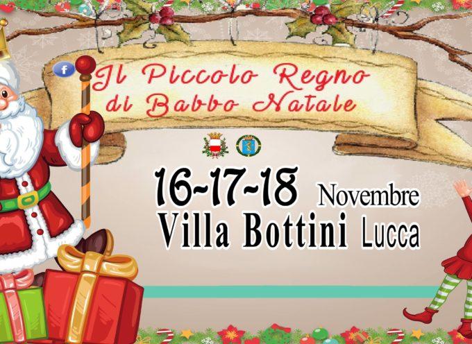 Il Piccolo Regno di Babbo Natale, dal 16 al 18 Novembre 2018 a LUCCA, a villa bottini