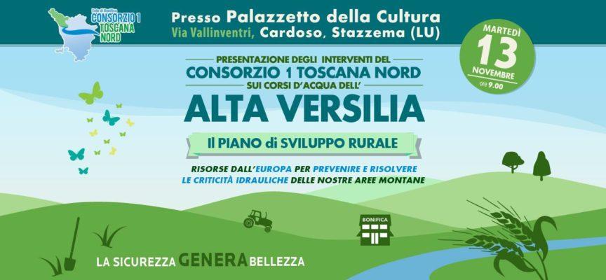 Presentazione degli interventi del Consorzio 1 Toscana Nord sui corsi d'acqua dell'Alta Versilia