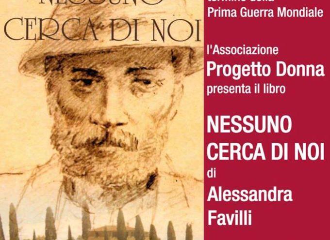 Nessuno cerca di noi, presentazione libro di Alessandra Favilli