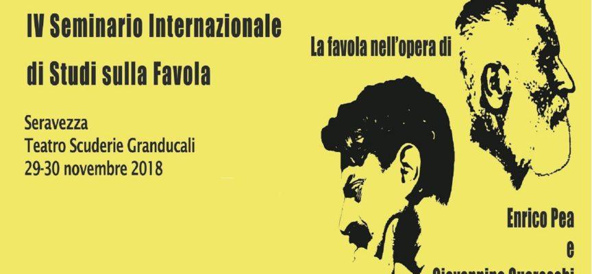 SERAVEZZA – La Favola nell'opera di Enrico Pea e Giovannino Guareschi
