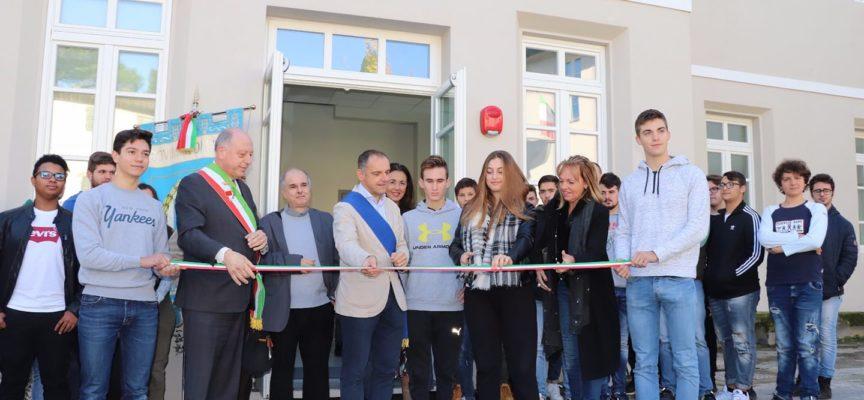 stamani abbiamo consegnato all'Istituto agrario Brancoli-Busdraghi di Mutigliano le nuove aule e i nuovi spazi completamente riqualificati.