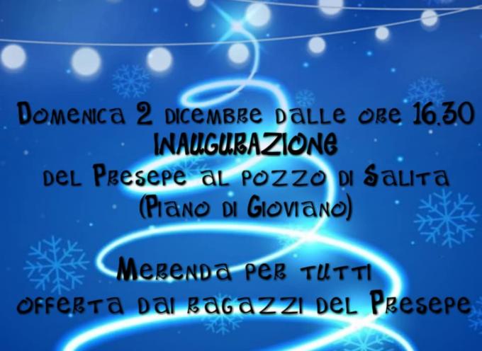 Inaugurazione del presepe di Piano di Gioviano, Borgo a Mozzano