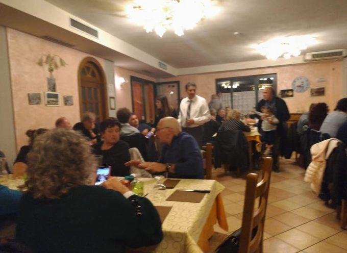 MARIO PUGLIA – Ieri sera a VAGLI SOTTO (LU) cena con più di 100 amici,