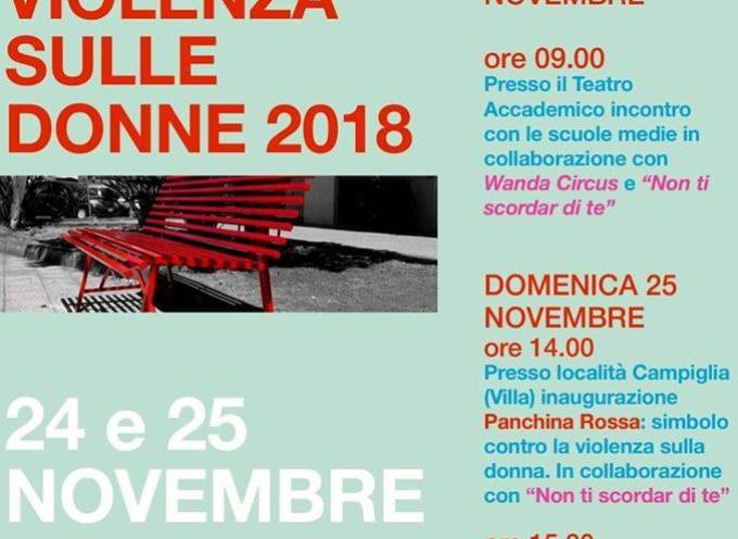 Giornata Mondiale contro la violenza sulle donne, a  Bagni di Lucca