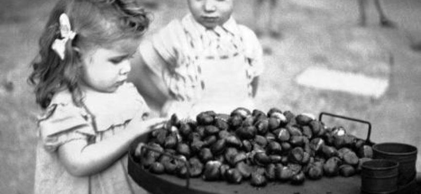 Gli odori dell'autunno: le castagne arrosto