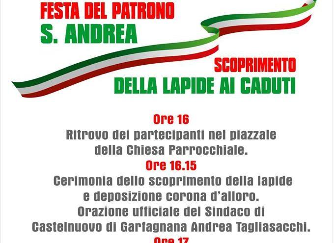 Una festa del Patrono S. Andrea molto particolare per la comunità di Cerretoli.