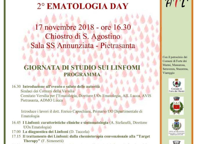 Salute: linfomi, prevenzione e diagnosi precoce, un incontro a Pietrasanta aperto a tutti