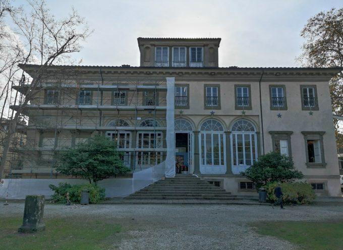 Partono i lavori a Villa Bottini: in programma i restauri degli intonaci,
