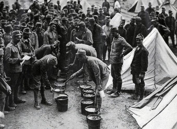 A Novegro, fine della Grande Guerra e sostai