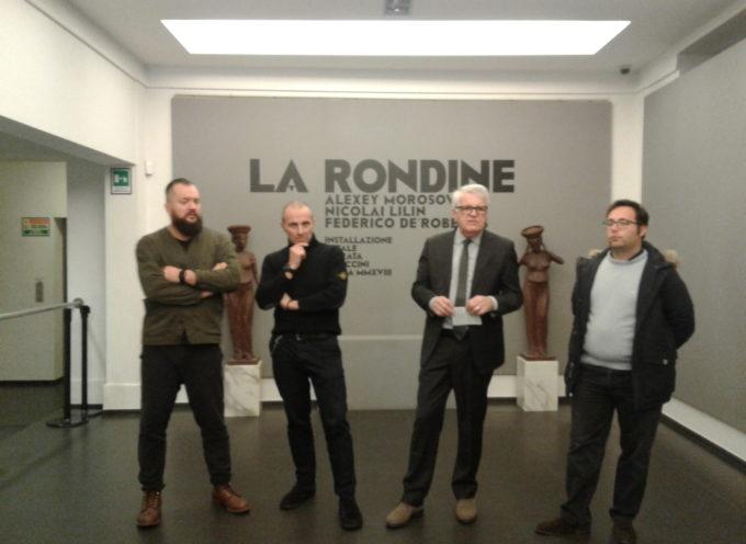 Fondazione BML Inaugura domani alle 18,30 la mostra La Rondine di Morosov, Lilin e De Robertis