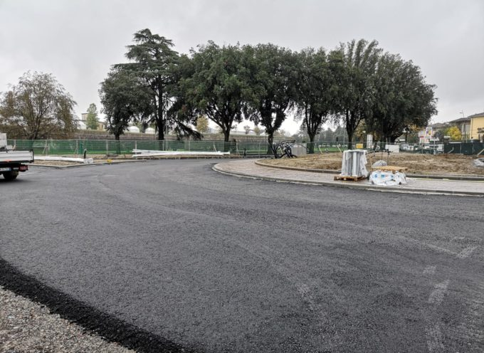 Rotatoria Porta Sant'Anna e bypass provvisorio sugli spalti delle Mura: l'opera è quasi terminata
