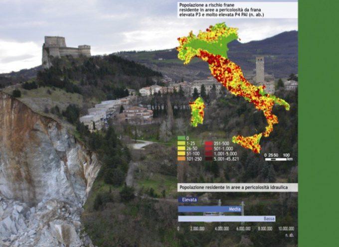 Dissesto idrogeologico in Italia, Rapporto Ispra 2018