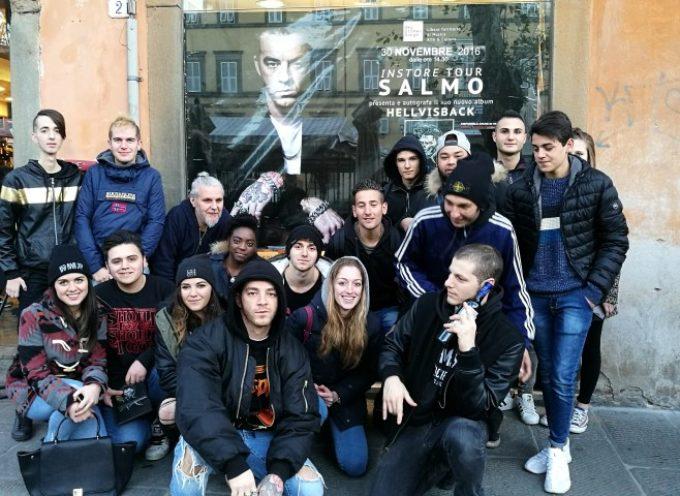 INSTORE – SALMO A LUCCA PER PRESENTARE 'PLAYLIST' E INCONTRARE I FANS  ALLO SKY STONE & SONGS
