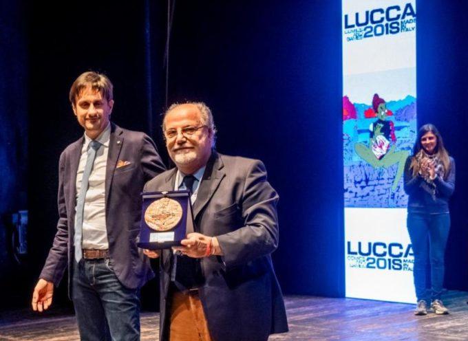 LUCCA COMICS & GAMES 2018 Nella serata di gala un premio speciale all'ex direttore Renato Genovese Best of Show dell'area Games