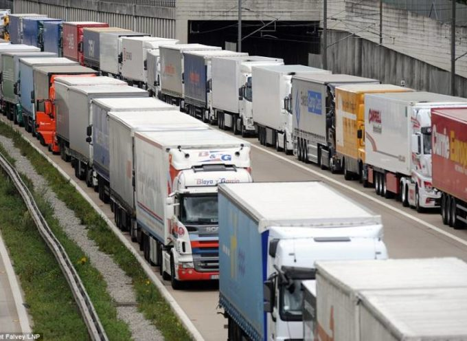 Centinaia di camion guidati per 2 euro all'ora da filippini, in Europa.
