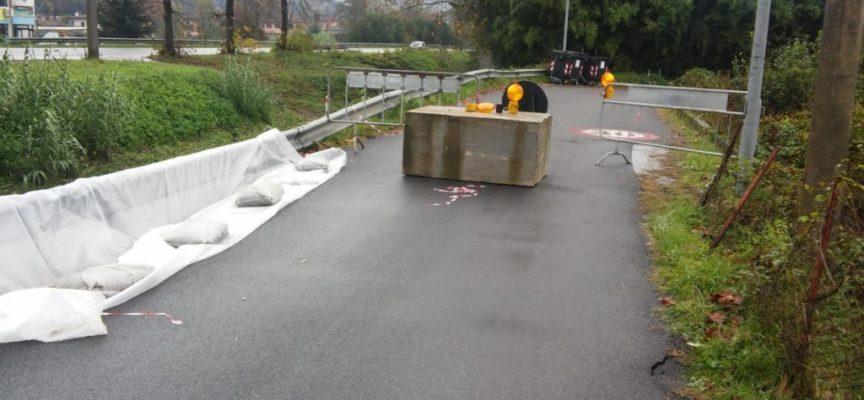 Nubifragio in Versilia: danni modesti ai canali