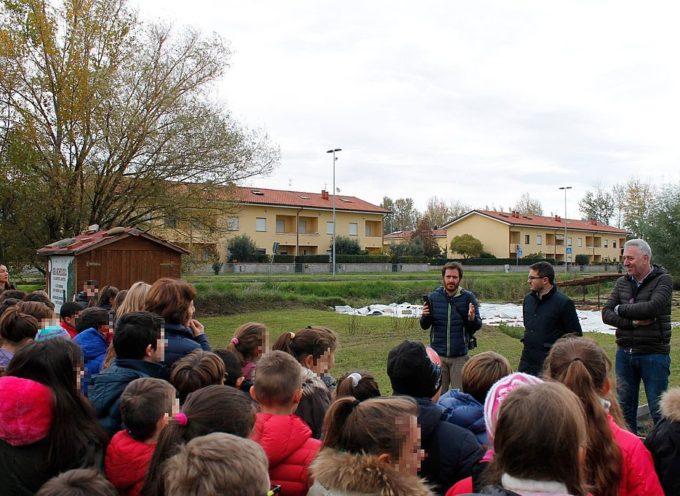 """Nell'area archeologica di via Martiri Lunatesi aperto il percorso didattico """"Le piante degli dei"""""""