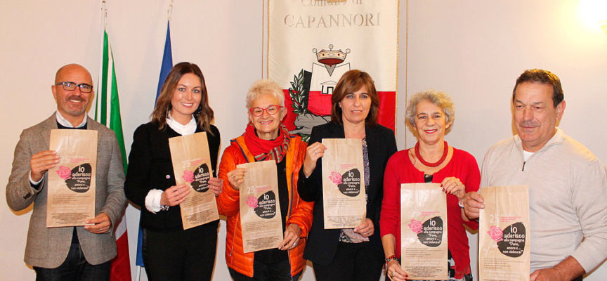 """Nella Piana di Lucca buste per pane per dire """"no"""" alla violenza di genere"""